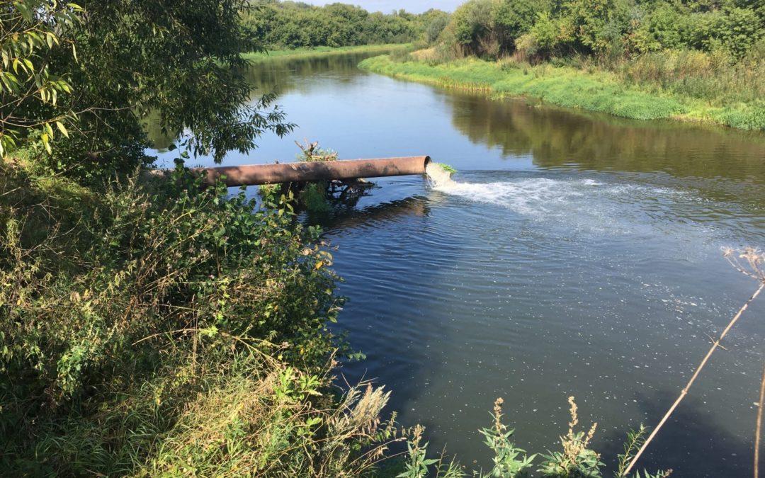 Загрязнение реки Жиздра