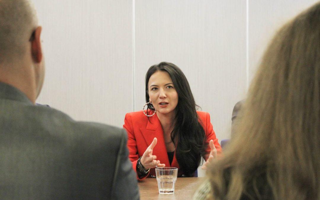 Кира Сазонова встретилась в Калуге с активистами и сторонниками партии ЗА ПРАВДУ